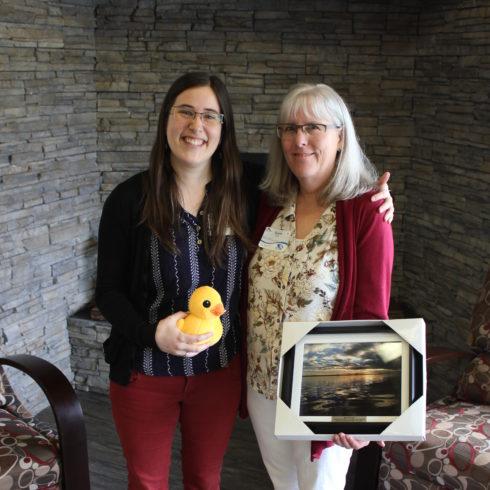 Susan Ellis receives an OTIS award