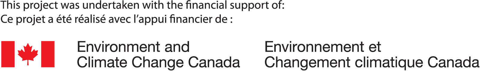 Environment and Climate Change Canada Logo